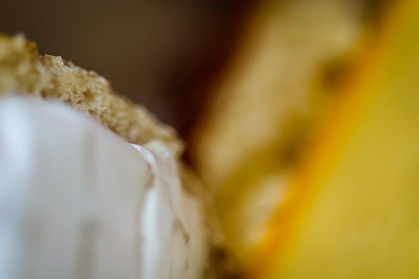 Brötchen mit Käse